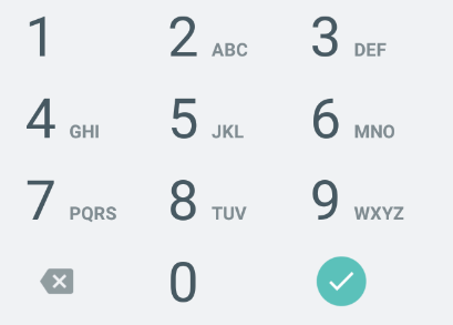 Tutorialwing Android EditText numberPassword input Type