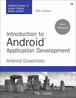 Recommended Book Android Application Development
