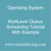 Tutorialwing MultiLevel Queue Scheduling Example