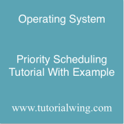 Tutorialwing Priority Scheduling Tutorial With Example of non preemptive priority scheduling