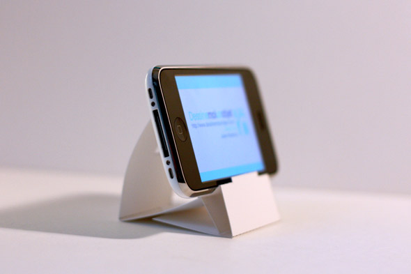 Dock en papier pour iphone