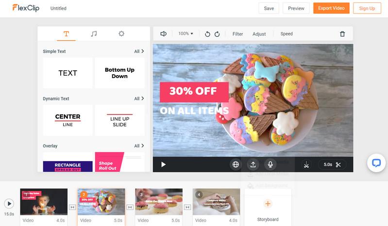 Best Free Online Video Editor - FlexClip