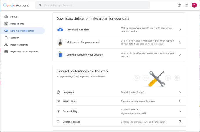 Download Gmail Data
