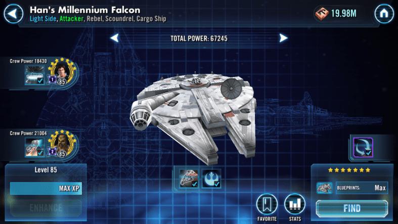 han millennium falcon