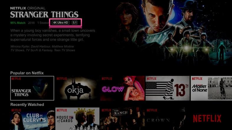 Netflix 4K will not work