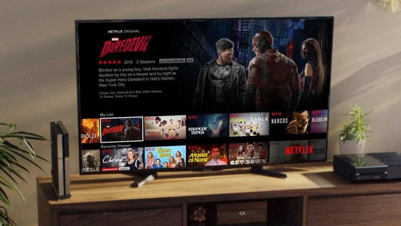 Streaming Daredevil in 4K on Netflix