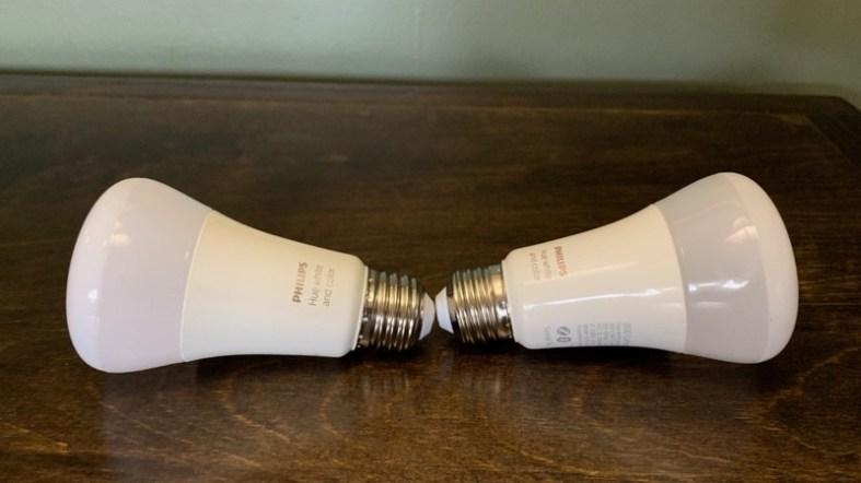 white philips hue bulbs