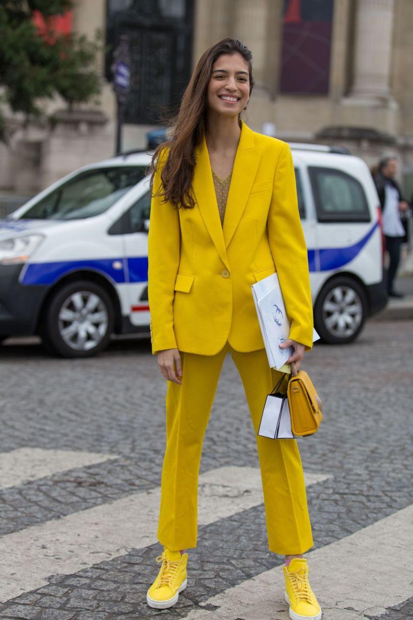 Street Style, Fall Winter 2019, Paris Fashion Week, France - 05 Mar 2019