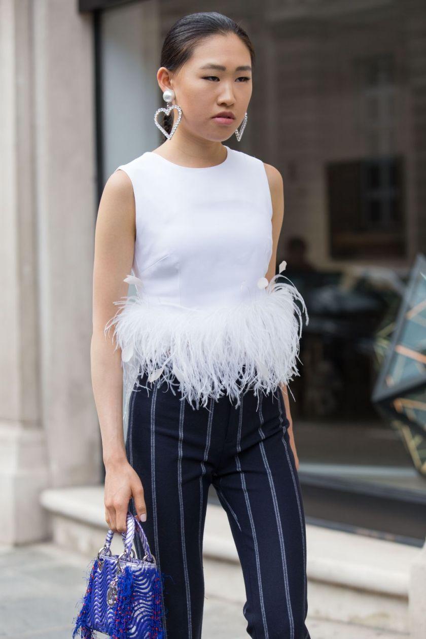 Street Style, Fall Winter 2019, Haute Couture Fashion Week, Paris, France - 01 Jul 2019