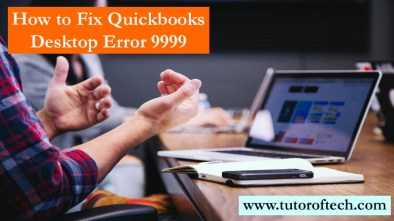 Quickbooks Desktop Error 9999