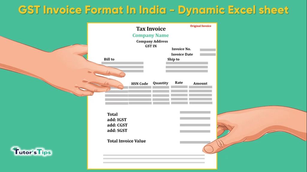 GST Invoice Format In India -min