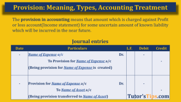 Provision in Accounting Feature Image  - Financial Accounting Tutorial
