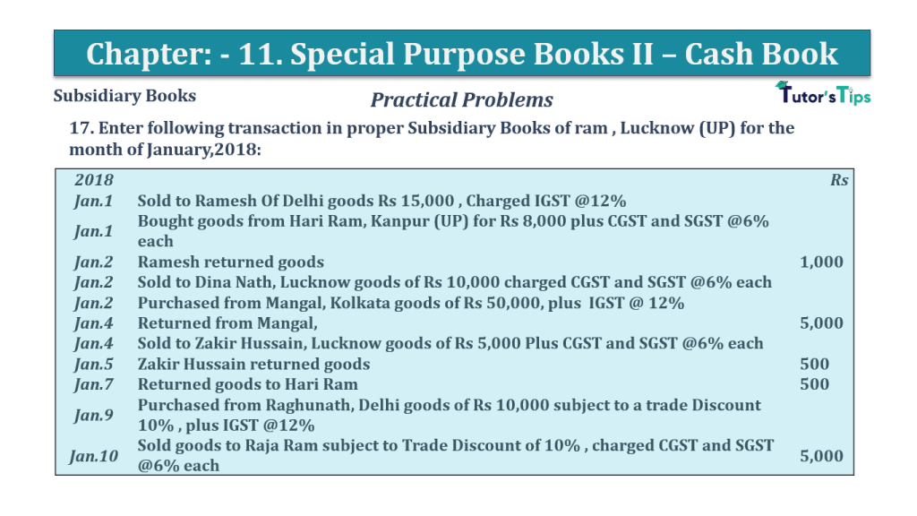 Question No.17 Chapter No.11 T.S. Grewal 1 Book 2019 Solution min min - Question No 17 Chapter No 11 - T.S. Grewal 11 Class