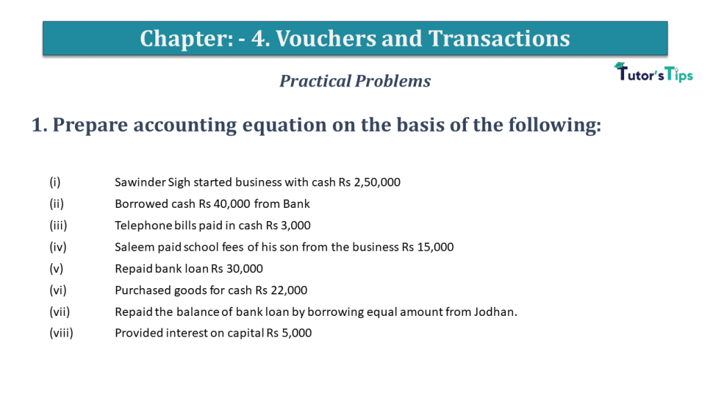 Question No 1 Chapter No 4