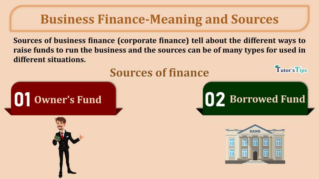Business Finance-Meaning and Sources