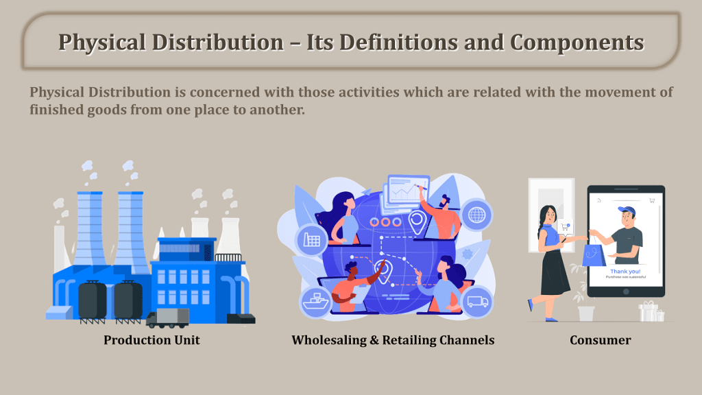 Physical Distribution – Its Definitions and Components
