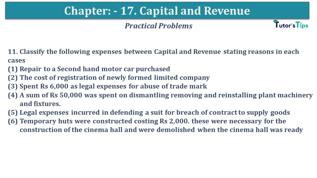 Question No 11 Chapter No 17