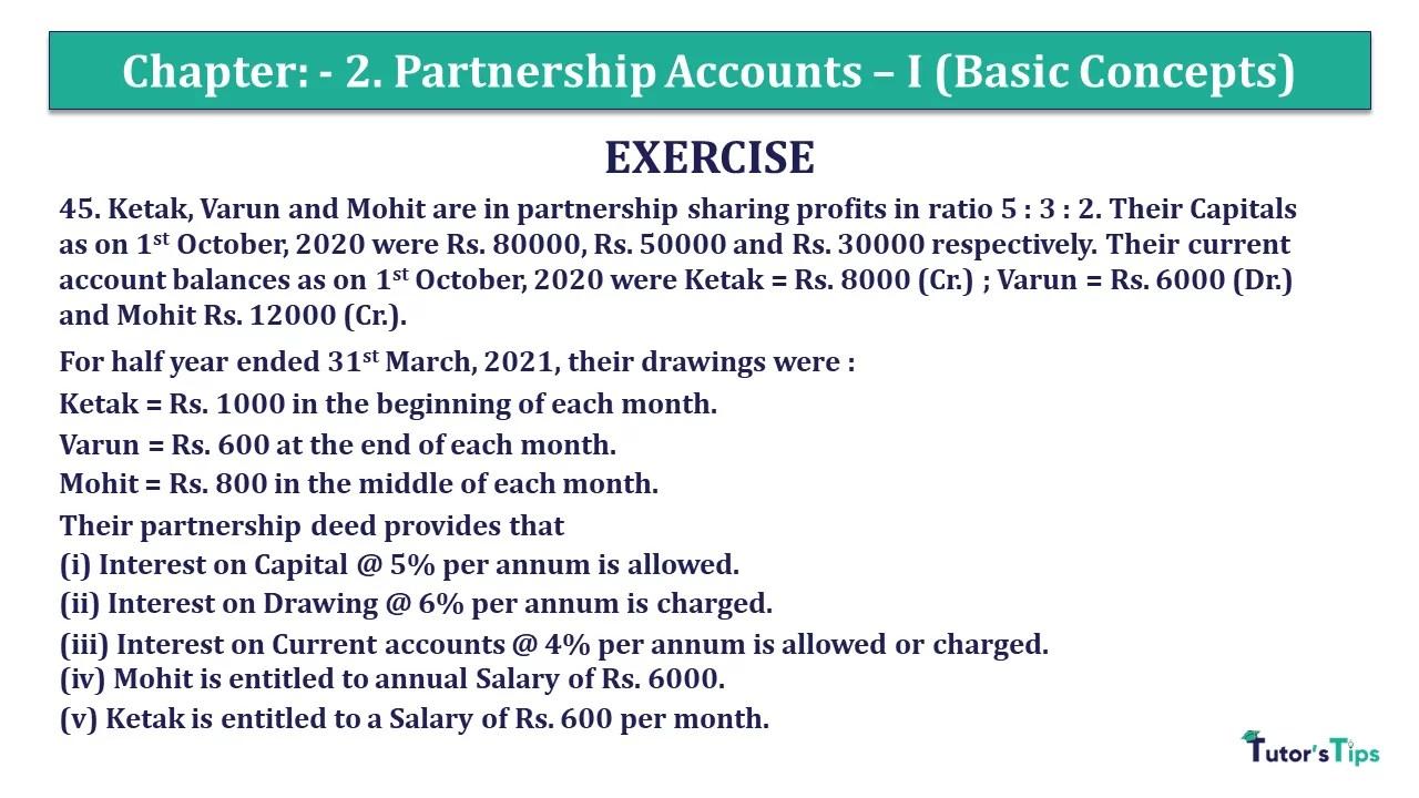 Question 45 Chapter 2 - Unimax Class 12 Part 1 - 2021
