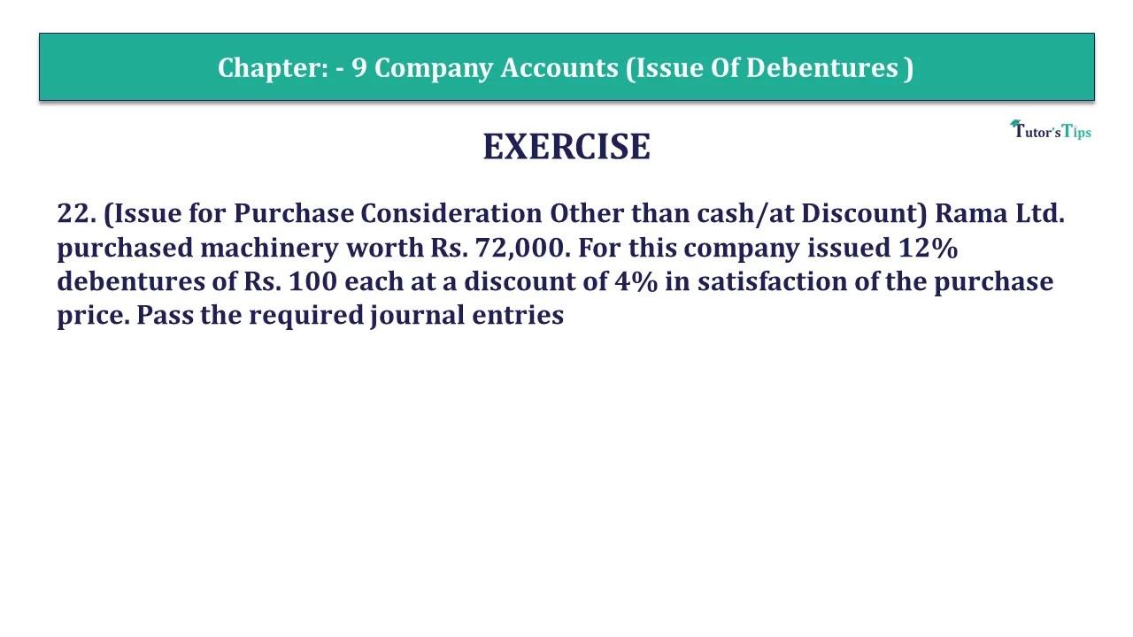 Question 22 Chapter 9 of +2-Part-1 - USHA Publication 12 Class Part - 1