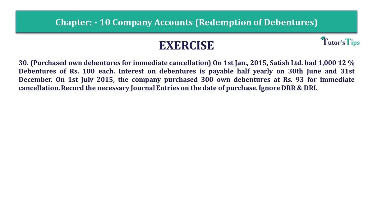 Question 30 Chapter 10 of +2-Part-1 - USHA Publication 12 Class Part - 1