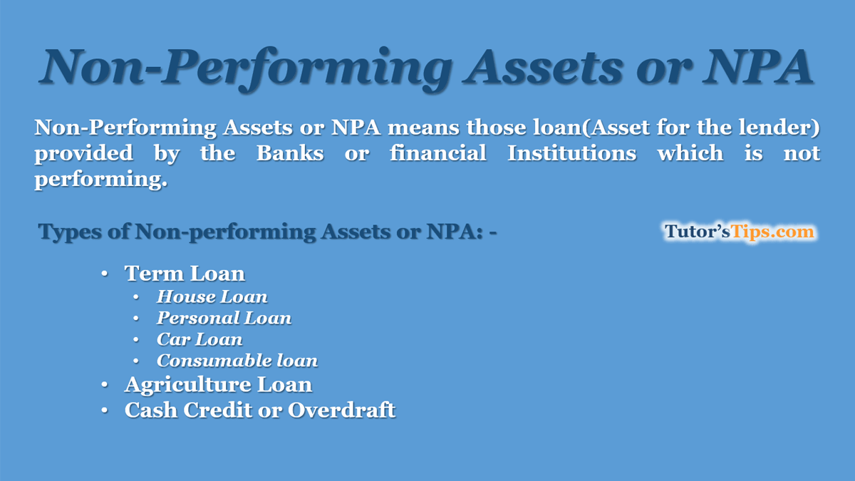 Non-Performing-Assets-or-NPA