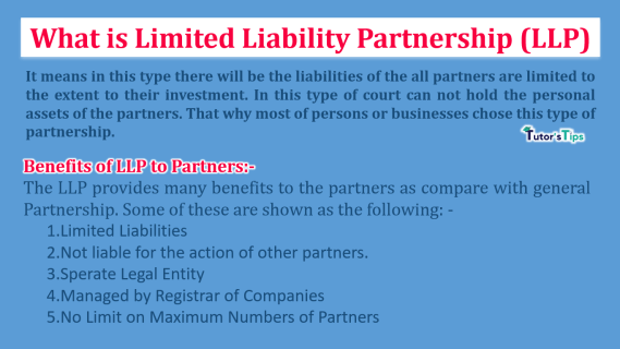 What is Limited Liability Partnership (LLP)-min