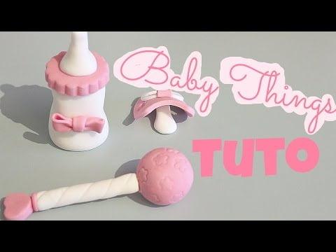 ? Comment faire des baby things (biberon, tétine, hochet)? Tuto | CHOCOPRALINE