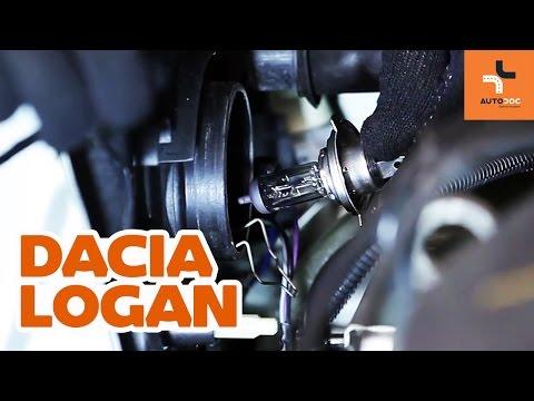 Comment remplacer une ampoule de feu avant sur une DACIA LOGAN 1 TUTORIEL | AUTODOC