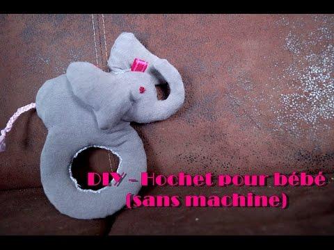 DIY – Hochet pour bébé (sans machine)