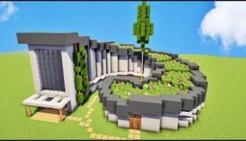 Tuto Maison Ultra Moderne Sur Minecraft Tutotube Fr Le