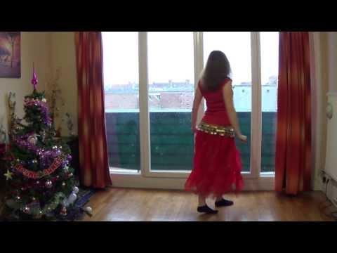 J'apprends la danse orientale : Tutoriel 1 waka waka