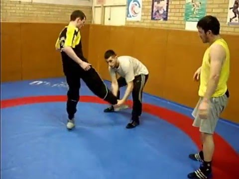 Technique lutte debout