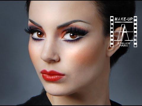 MOULIN ROUGE MAKE-UP TUTORIAL | Make-Up Atelier Paris