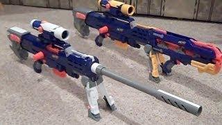 My NEW Nerf N-Strike Elite Longshot custom gun mod