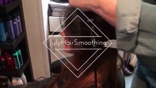 Pose Extension Mèche Indienne July Hair Smoothing