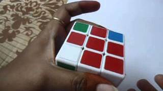 How to Solve a 3x3x3 Rubik's Cube Easiest Tutorial in telugu Step 3