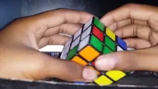 How to Solve 3×3 Rubiks cube in telugu