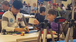 6×6 Rubik's cube world records – single 1:19.60, average 1:25.10