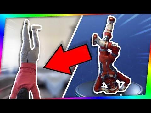 FAIRE LES NOUVELLES DANSES FORTNITE DANS LA VRAIE VIE ! (Break dance, Robot etc)