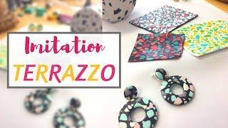 TUTO Imitation Terrazzo : je débute en polymère ✨
