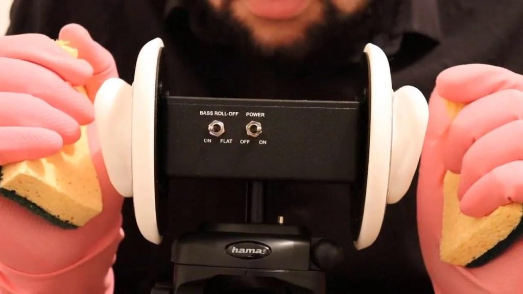 ASMR  Français ~ Massage des oreilles 2  ~ Tapping ~  3Dio