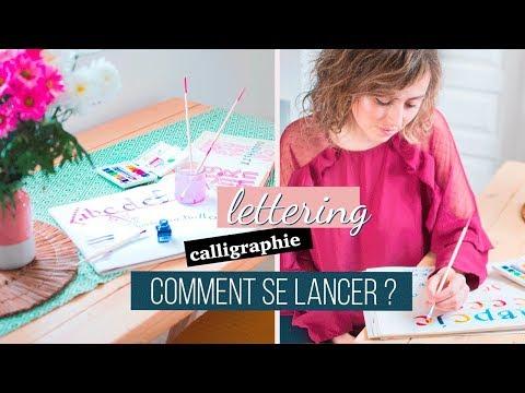 Se lancer dans la calligraphie & le lettering | Matériels, inspirations