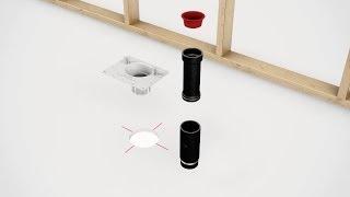 F2 Drain: La solution innovante pour l'installation de baignoires autoportantes!