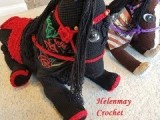 Helenmay Crochet Large Wild Mustang Horses and Unicorn Part 5 of 5 DIY Video Tutorial