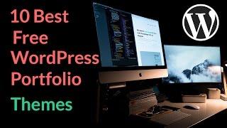 Best Free WordPress Portfolio Themes 2018