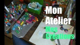 MON ATELIER / MES CREATIONS POLYMERE FIMO / CERNIT