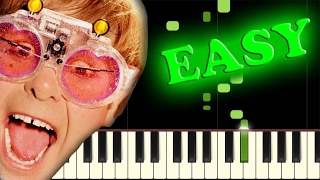 ELTON JOHN – ROCKET MAN – Easy Piano Tutorial