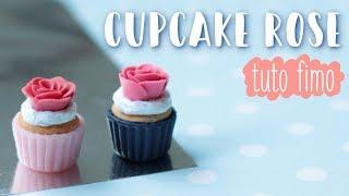 • Tuto Fimo : Cupcake rose⎪Polymer Clay Tutorial⎪ZoWé