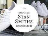 8 ALTERNATIVES aux STAN SMITH   TOUT sur les SNEAKERS BLANCHES (INDISPENSABLES) !   conseils mode
