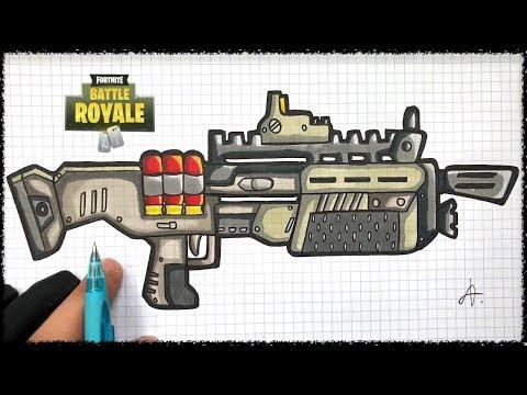 Coloriage Fortnite Arme Sniper Fortnite Aimbot Online Free